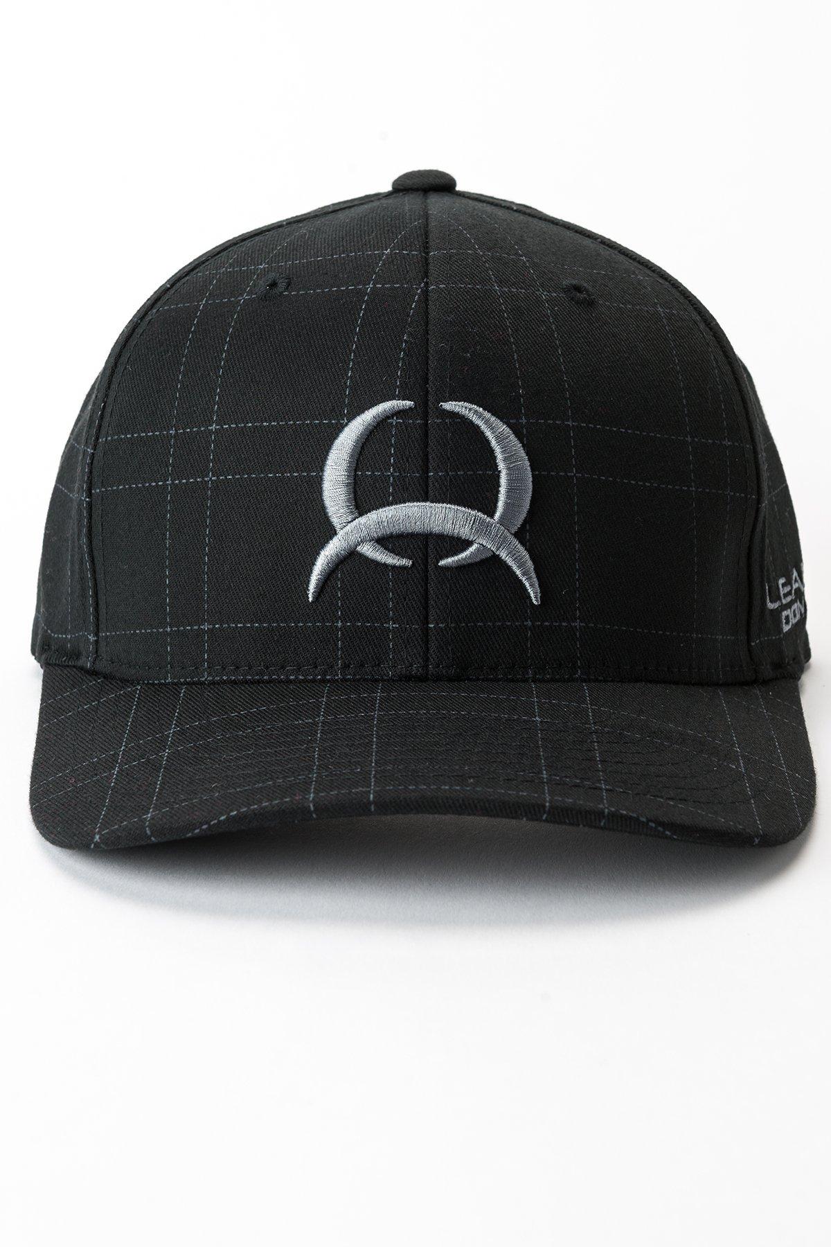 casquette-flexfit-western-cinch-noir-devant-MCC0627726
