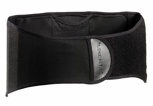 ceinture lombaire back on track noir vue de face