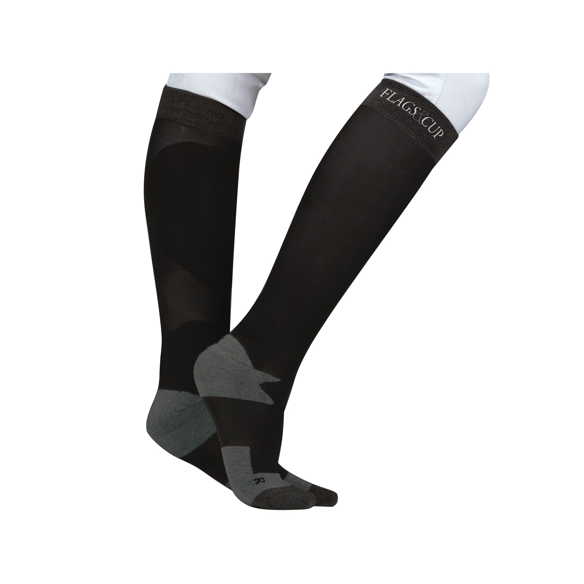 chaussettes-cartagena-flags-and-cup-noir-anthracite-900305