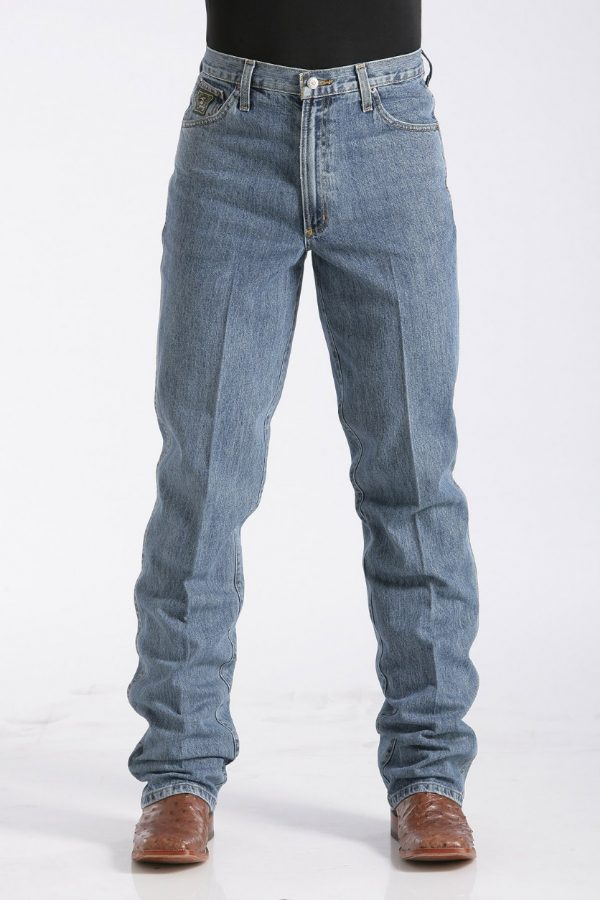 jeans western homme green label marque cinch vue face