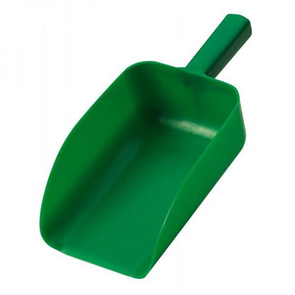pelle à grains en plastique vert