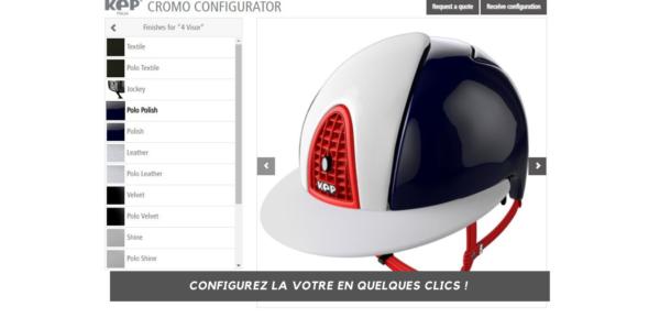 configurateur casque équitation KEP