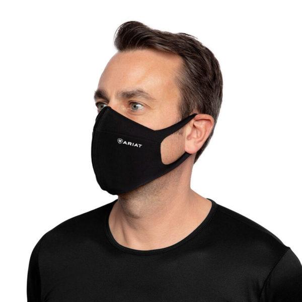 masque de protection visage ariat noir