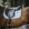 Tapis cheval selle velvet jumping Kentucky bleu ciel
