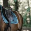Tapis cheval selle velvet jumping Kentucky emmeraude